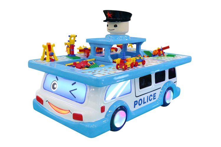 DNB hot sale kids  Building Block attractive cute design Police Building Block for kids