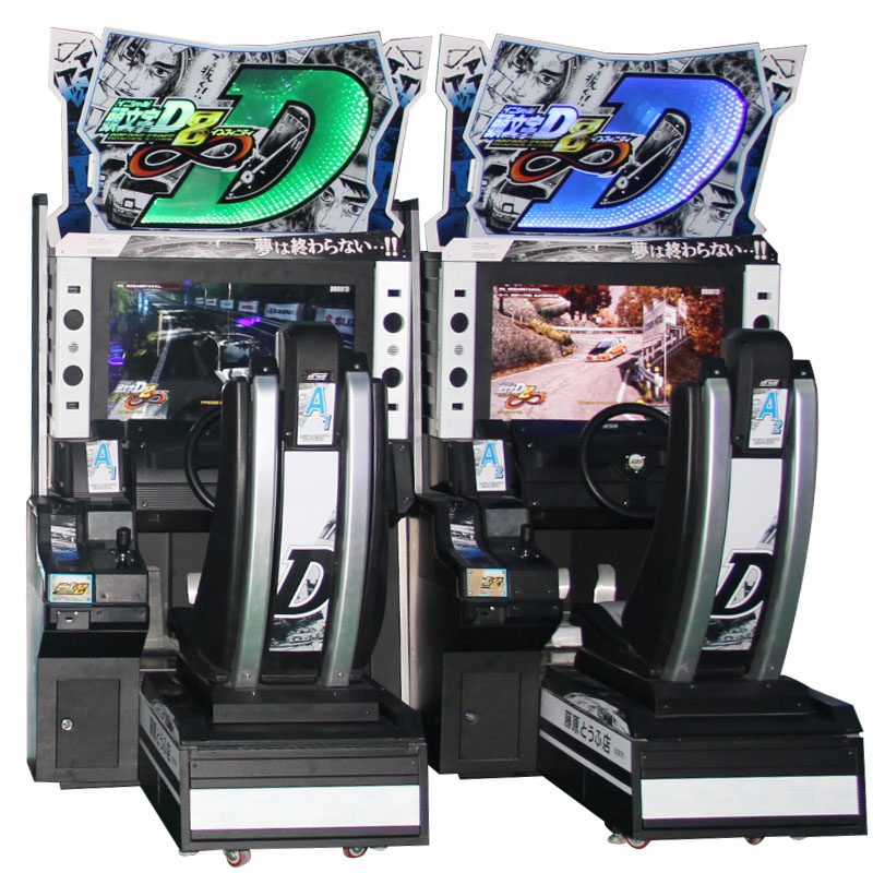 Initial D arcade stage ver.8  coin operated simulator racing arcade video game machine