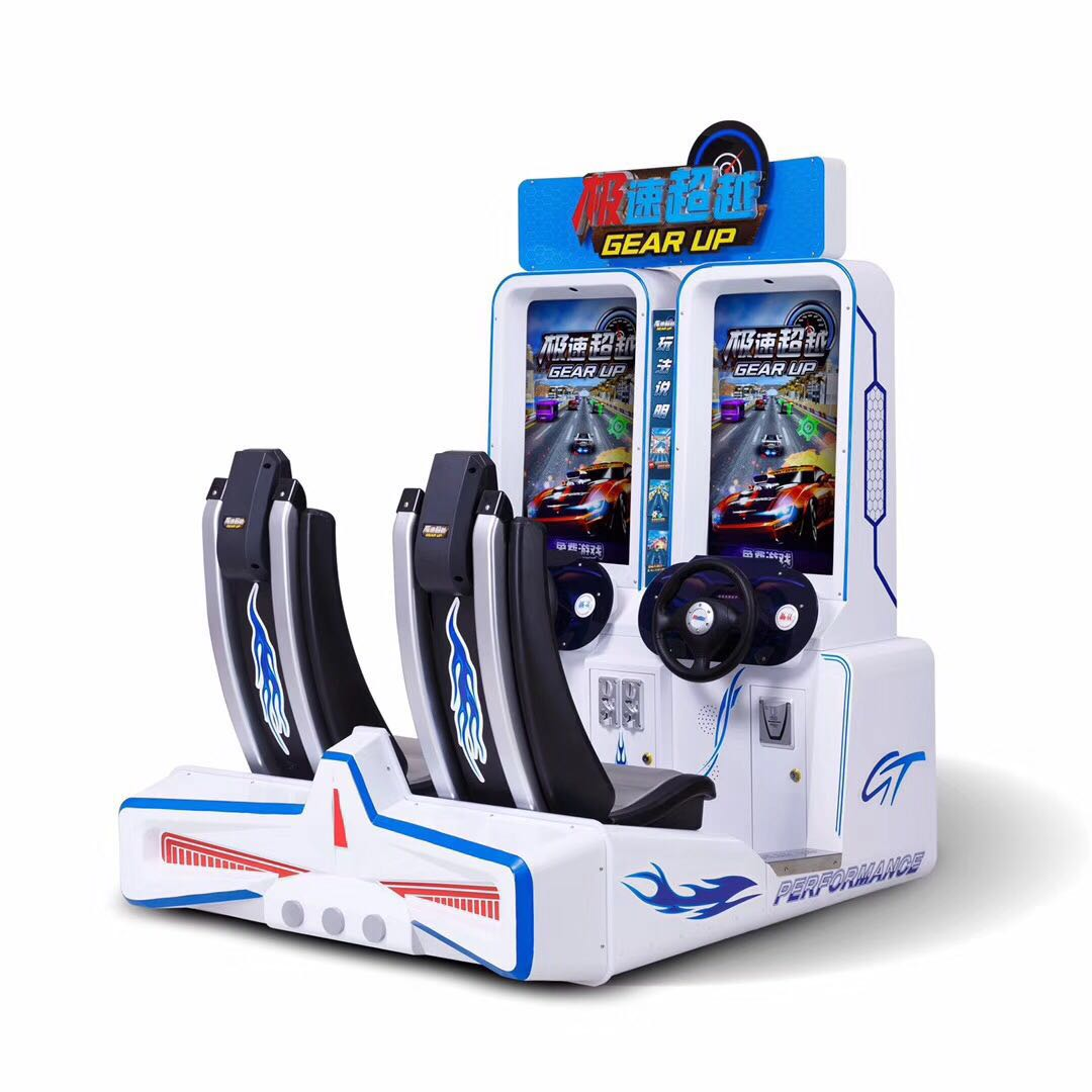 Factory price coin operated gear up arcade simulator racing games arcade amusement games machines
