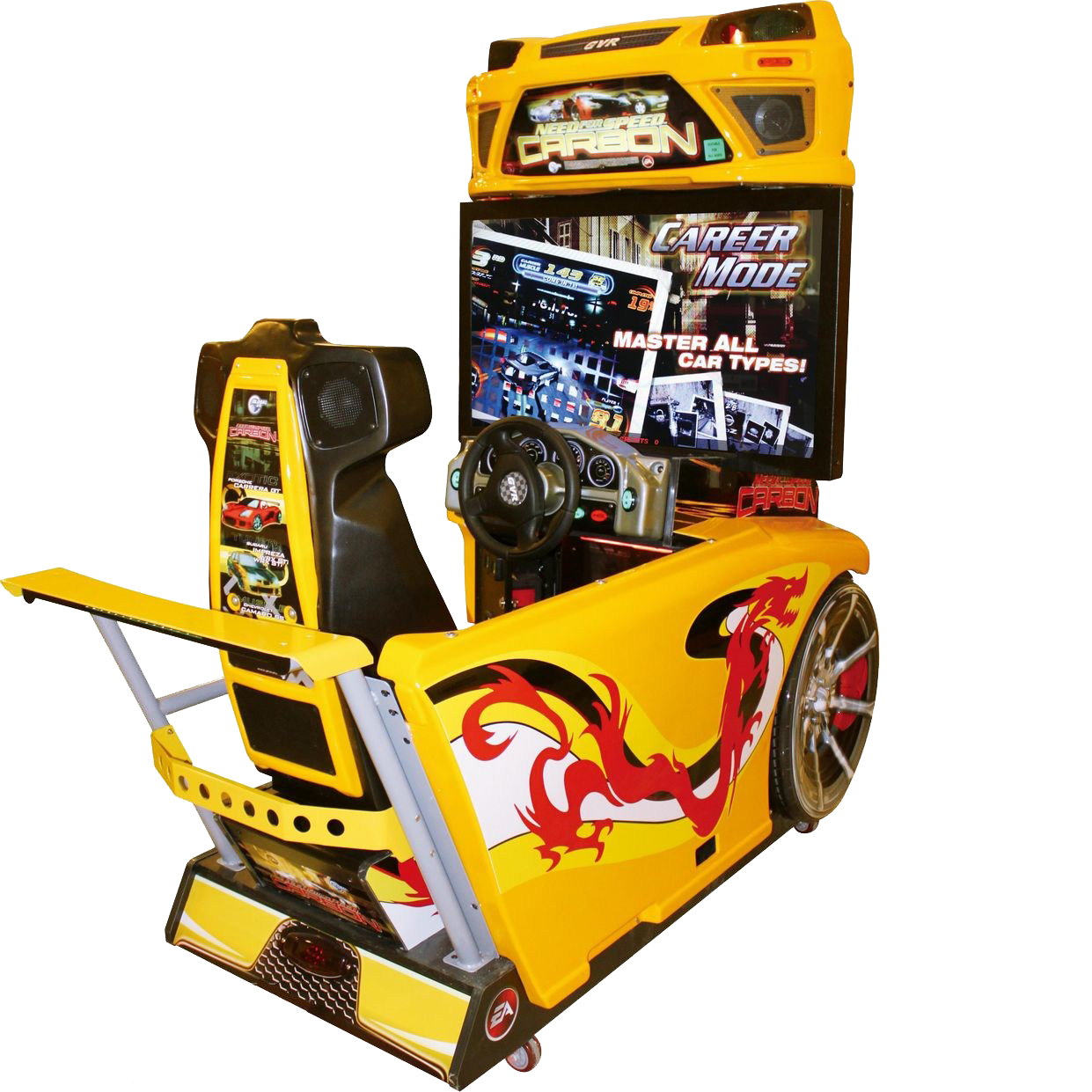 Dinibao NFS need for speed simulator arcade coin operated driving racing car game machine