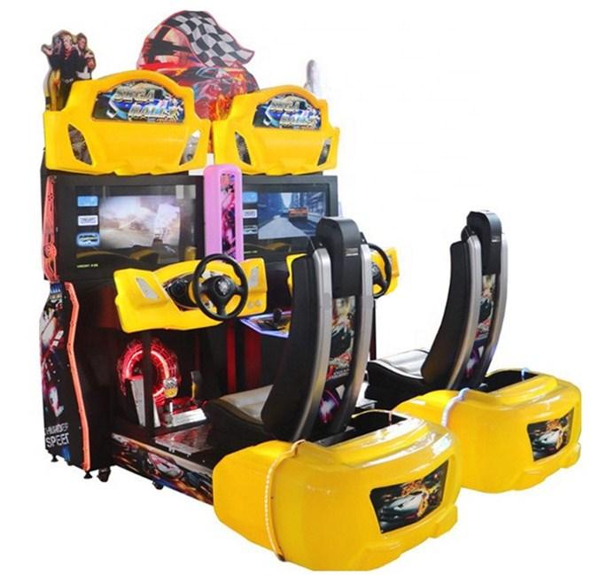Dinibao arcade car racing game machine 2players simulator racing arcade video game machine for sale