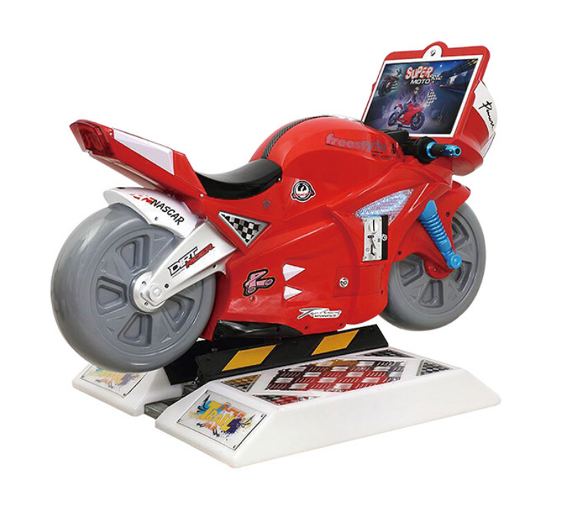 Hot selling motorcycle arcade games simulator amusement super motor racing game machine for kids