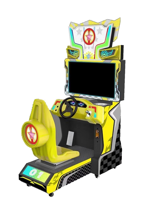 Dinibao 42 inch Trunk/Super Mario simulator coin operated racing car game machine