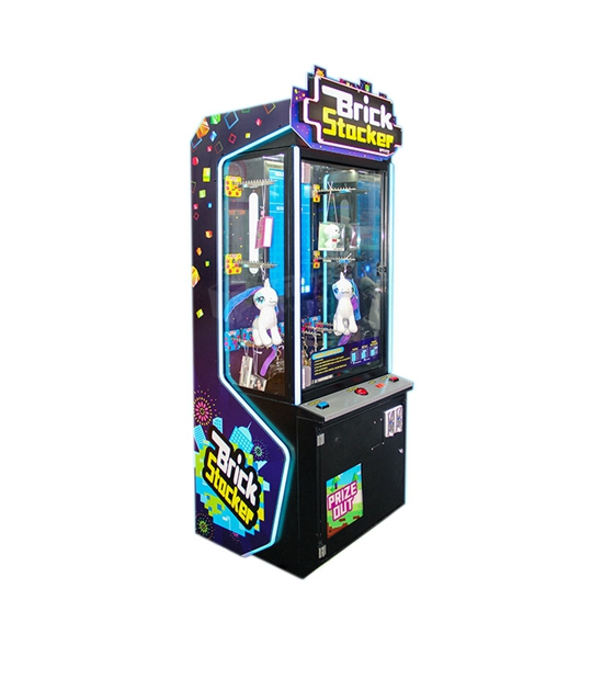 Hot Selling Coin Pusher Brick Stocker Toy Claw Game Machine Manufacturer