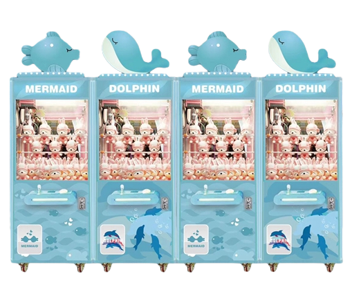 High quality coin operated Animal Dolphin series toy game machine for sale