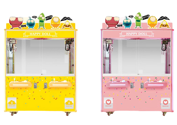 2020 New arrival Happy doll giftware game machine