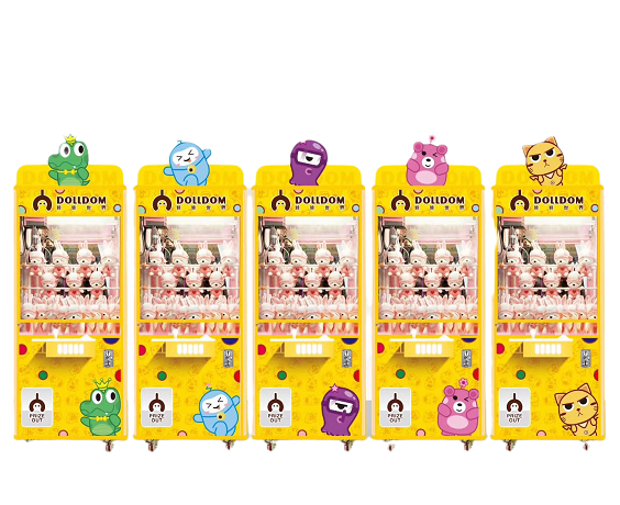 2020 New style Dolldom Claw Arcade Game Machines for sale