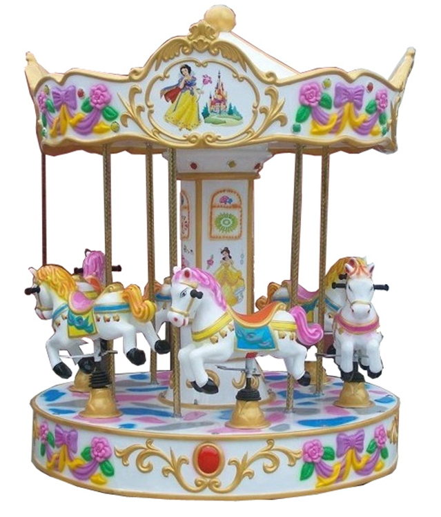 China Cheap 6 Players Carousel Kids Riddes Coin Operated Arcade Game Machine