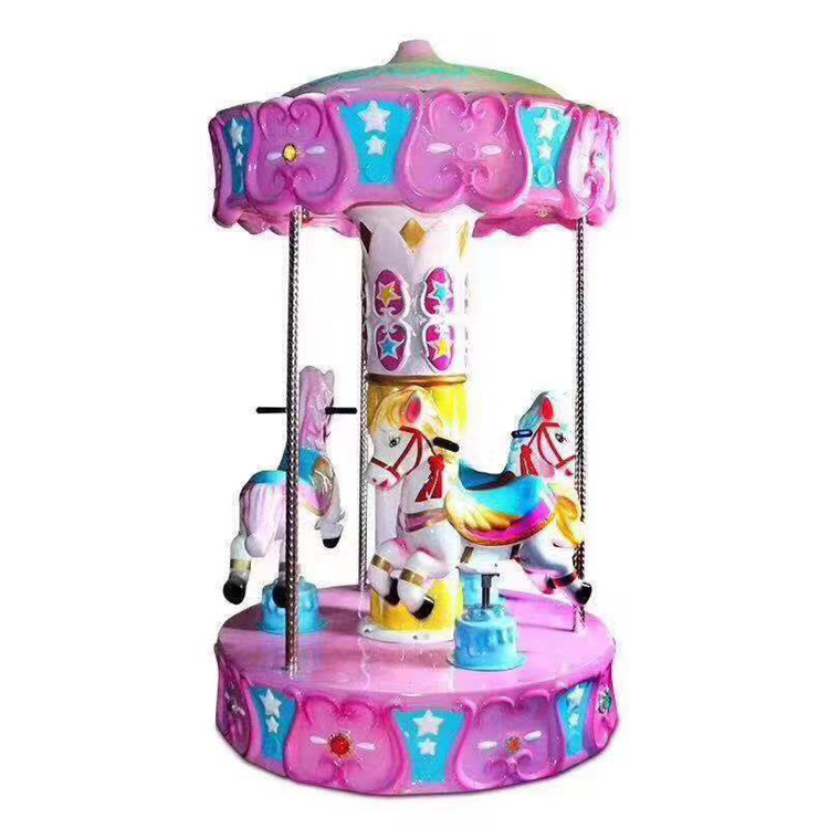 children's playground 3 seats merry go round for amusement park