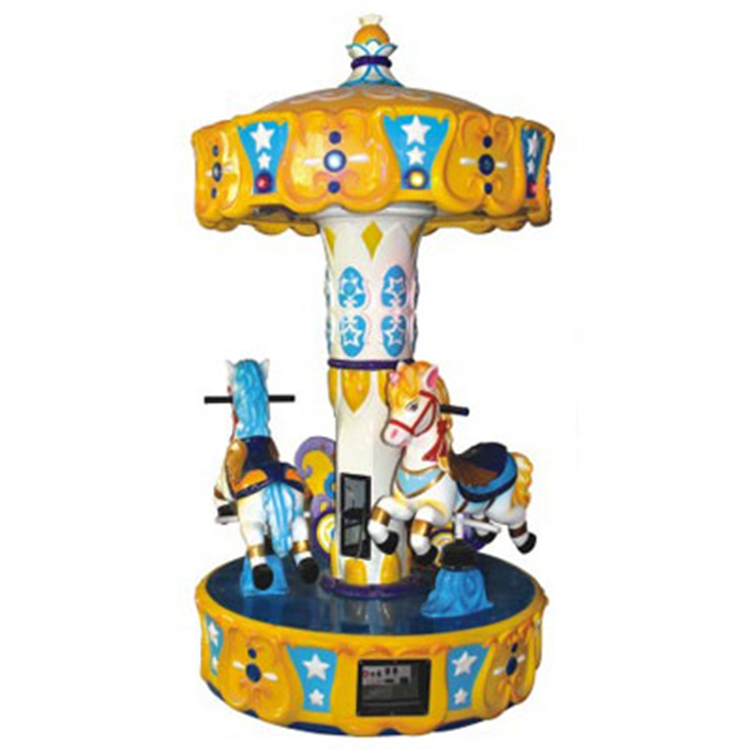 New design cute go round kids carousel