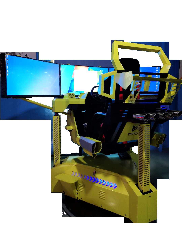 Hotest Sale Simulator 9D VR 3 Screen Racing car machine