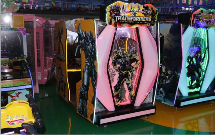Indoor video arcade game transformers shooting machine simulator arcade gun game machine for Adults